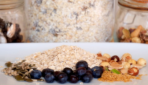 Linseeds, pumpkin seeds, oats, mixed nuts, and blueberries | by John (Thank you for >2 million views)