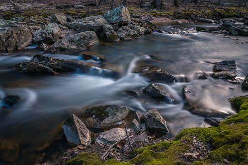 "Little Waterfall Along the Hawlings ""River"" | by John Brighenti"