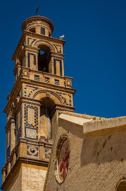Iglesia de Santa María de la Mota. Marchena (Sevilla) España.