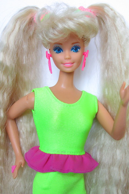 Barbie Totally Hair 1991 (China)