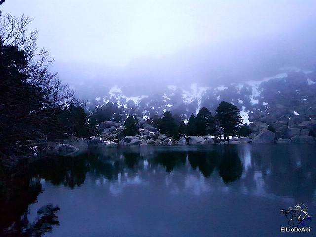 Anochecer en la Laguna Negra de Vinuesa 9