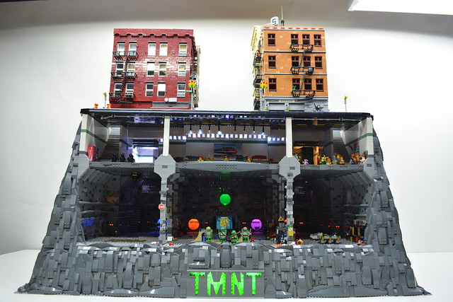 Teenage Mutant Ninja Turtle Sewer Lair-Subway-NYC
