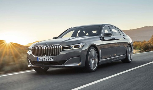 The new 2020 BMW 7 Series Sedan Photo