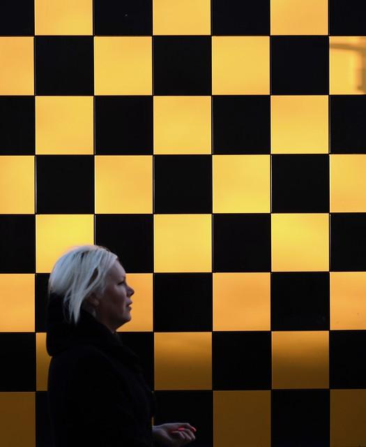 Chess lady