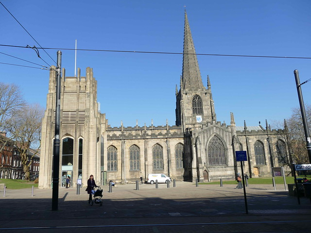 Cathedral - Sheffield, St Peter & St Paul 190227