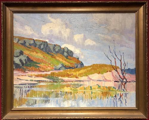Oscar Jacobson, Landscape, Mabee-Gerrer Museum of Art | by gmeador