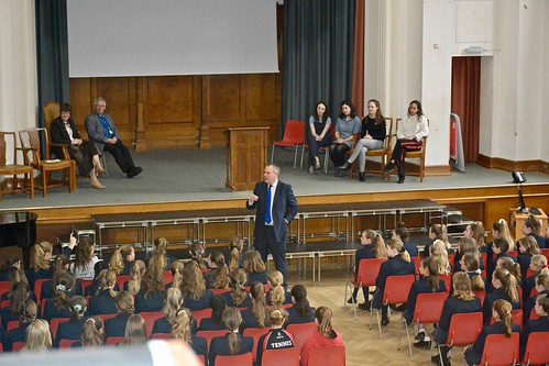 Conor visits Talbot Heath School | by Conor Burns - Conservative