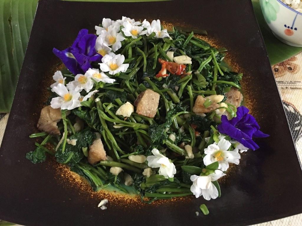 劉晉宏認為蔬食料理的技術門檻非常高,友善耕作的菜蔬要成為好吃的蔬食,需要堪稱藝術的廚藝來支持