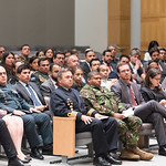 Fri, 03/29/2019 - 14:05 - On Friday, March 29, 2019, the William J. Perry Center for Hemispheric Defense Studies hosted a graduation ceremony for two courses: 'Strategic Implications of Human Rights and Rule of Law' and 'Combating Transnational Threat Networks.' Students from all over the Americas attended the courses from March 18-29, 2019. The graduation ceremony and reception took place in Lincoln Hall at the National Defense University's North Campus at Fort McNair in Washington, DC.
