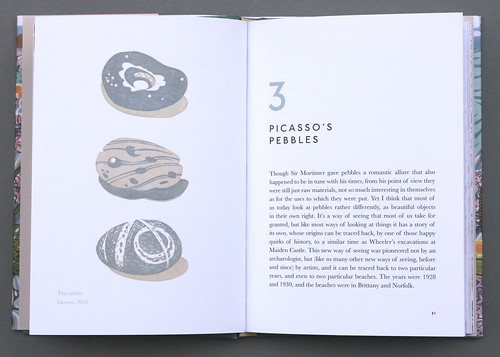 Spread_The Book of Pebbles, Random Spectacular, Christopher Stocks with illustrations by Angie Lewin