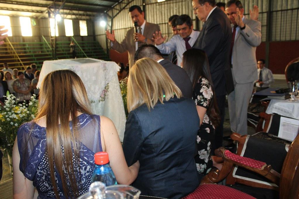 Presentación pastores naciente Iglesia La Florida, Antuco
