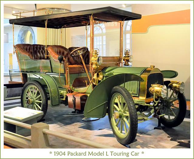 1904 Packard Model L Touring Car