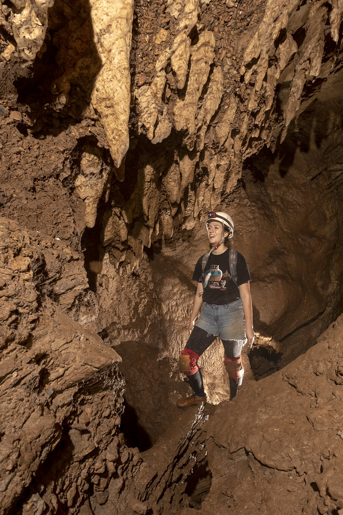 Armanda Crawford, Hawkins Impact Cave, Jackson County, Tennessee