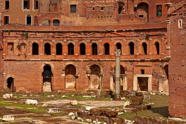 Roma / Trajan's Market / Mercato di Traiano