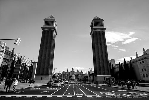 Llegando al Montjuïc | by rominagisellefotografía
