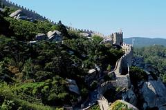 Moorish Castle. Sintra, Portugal. October 2018