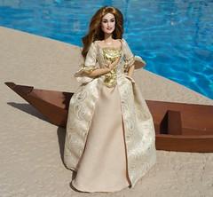 Pirates of the Caribbean Elizabeth Swann OOAK Barbie Doll