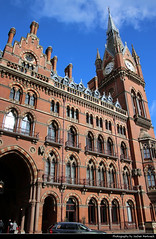 St Pancras Railway Station, London, UK
