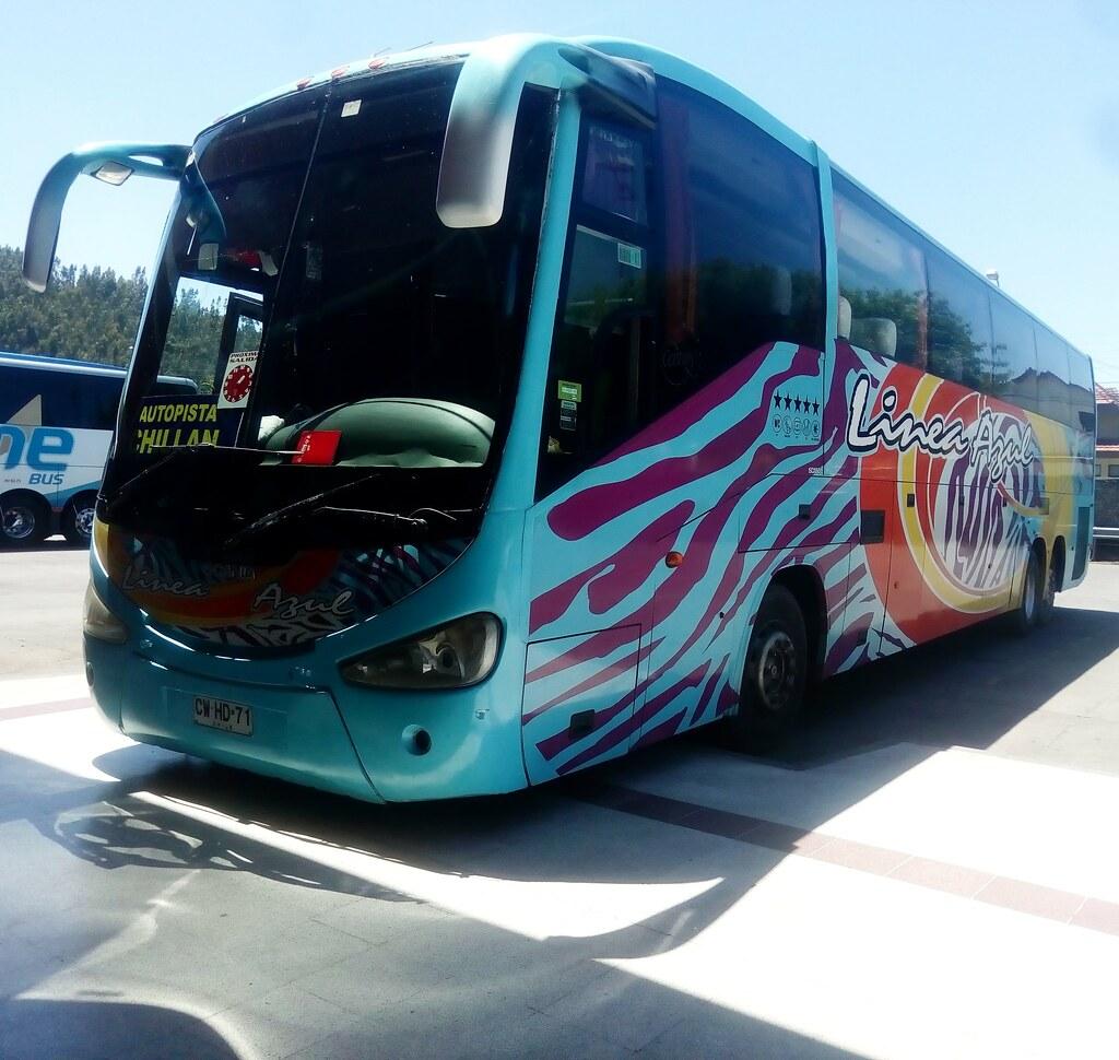 Irizar Century 3 90 Buses Linea Azul Concepción Chillan Te