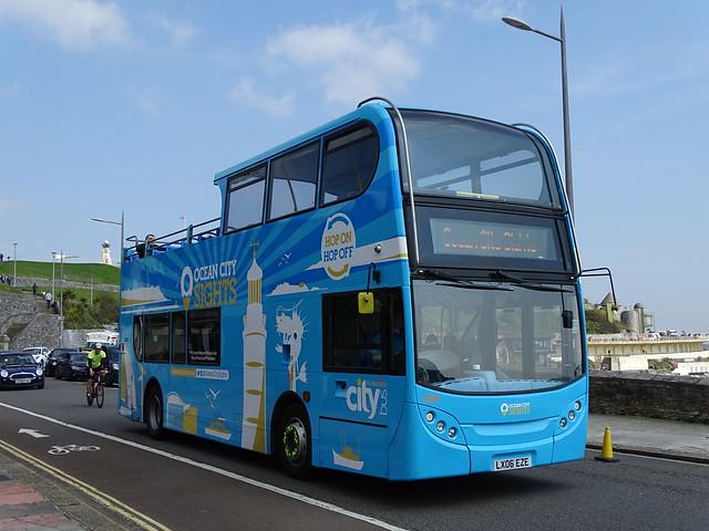 Plymouth Citybus LX06EZE 469