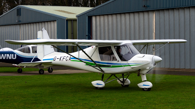 Comco Ikarus C42 FB80 G-KFCA