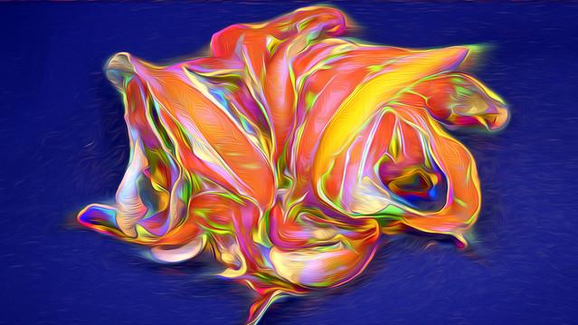 Bildschichten Orangenschalen 01b Brosche