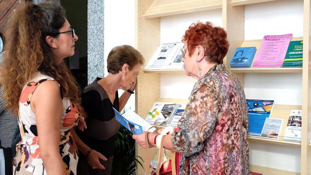 INAUGURAZIONE SPAZIO ALZHEIMER IN BIBLIOTECA  21 SETTEMBRE 2018  Foto A. Artusa