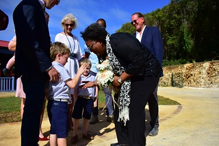 Official opening of the St Nicholas Abbey Heritage Railway (6) | by barbadosgovernmentinformationservice