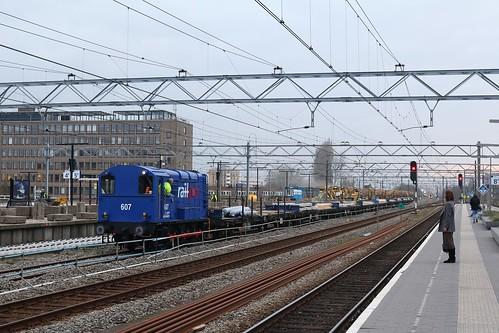 Leiden Centraal, 28 maart 2019 | by Treinfan93