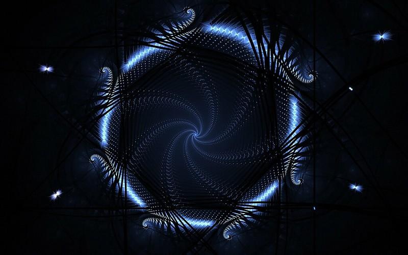 Обои круг, синий, неон, свет картинки на рабочий стол, фото скачать бесплатно