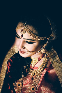 A traditional Bengali Bride
