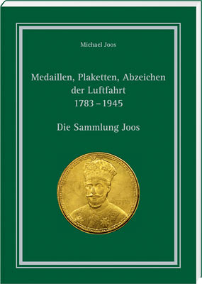 MEDALS OF AVIATION 1783-1945 book cover | by Numismatic Bibliomania Society