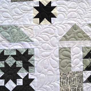 Sew Sampler Barn Blocks - Quilting