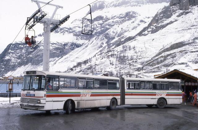 Setra SG 180 - Val d'Isère, Savoie 73 © ET