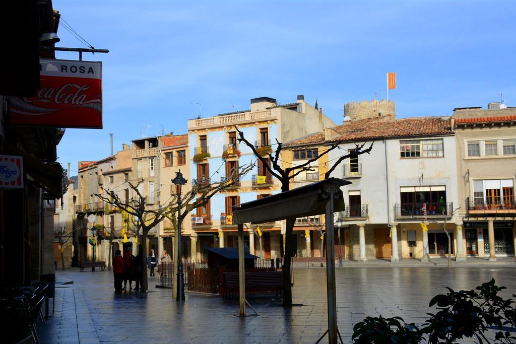 Plaça Major, Santa Coloma de Queralt. | Angela Llop | Flickr