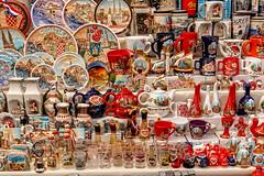 Zagreb. Dolac Market.