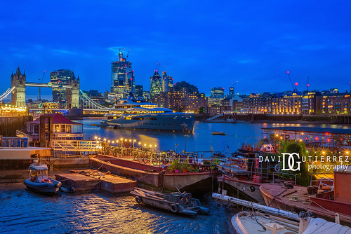 Twilight River - London, UK | by davidgutierrez.co.uk