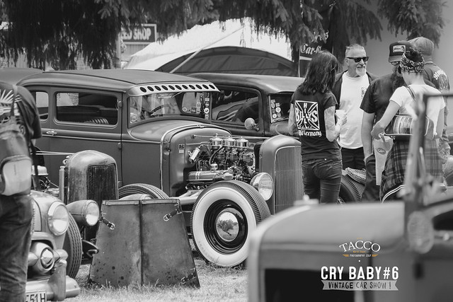 Cry Baby #6, vintage car show
