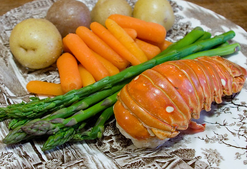 Lobster & Veggies | by owntwohands