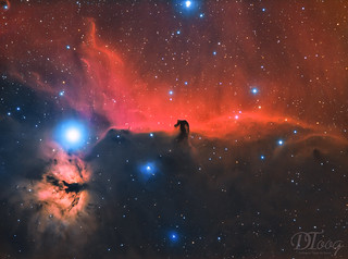 Horse Head and Flame Nebula | by Delberson Tiago