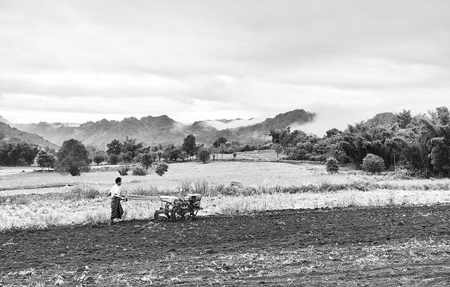 Early morning in Burma