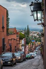 Streets at San Miguel de Allende, Mexico