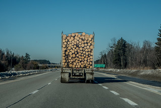 Logging Truck | by Stephen Downes