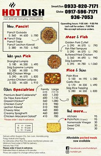 hot dish delivery menu | by frannywanny
