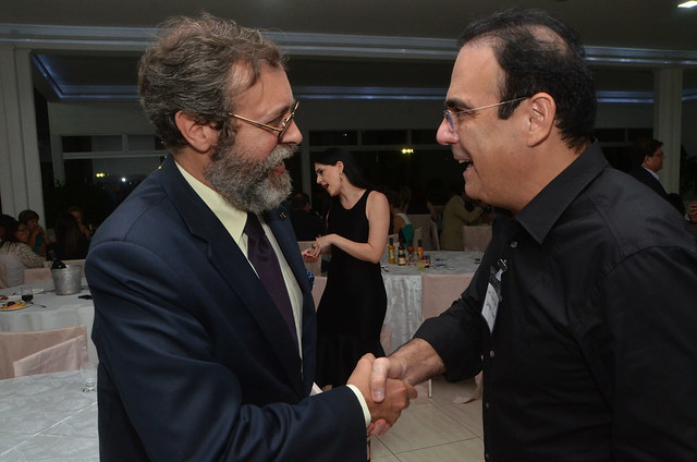 Jantar com o cônsul-geral português, embaixador  Paulo Jorge Nascimento.