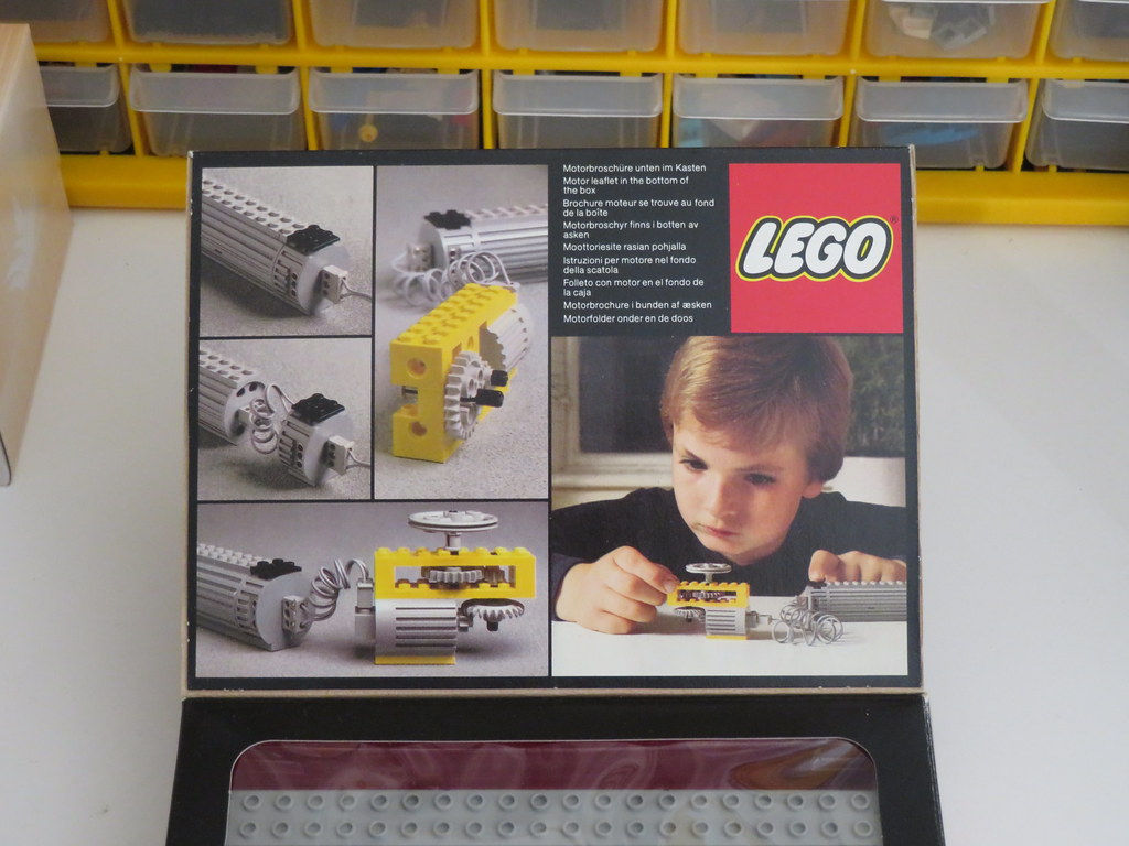Lego Technic 8700 45v Motor Set Ryan Smith Flickr