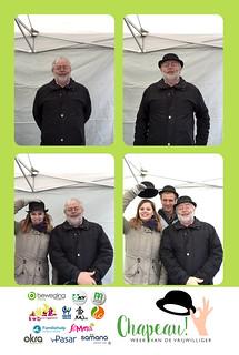 Chapeau Vrijwilliger 2018 - Photobooth