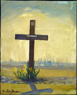 The Grave of an Unknown British Soldier, Passchendaele Road / Tombe d'un soldat britannique inconnu, chemin Passchendaele