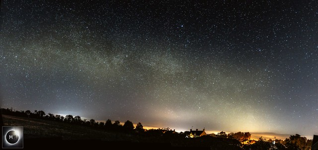 Milky Way Panorama from Oxfordshire (Reprocessed) 21/04/17