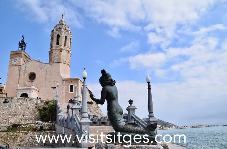 La Iglesia de Sitges